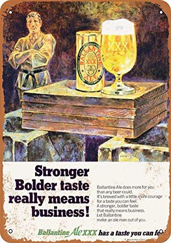 Ballantine Ale - 7 x 10 Metal Sign - 1968 Ballantine Ale XXX - Vintage Look
