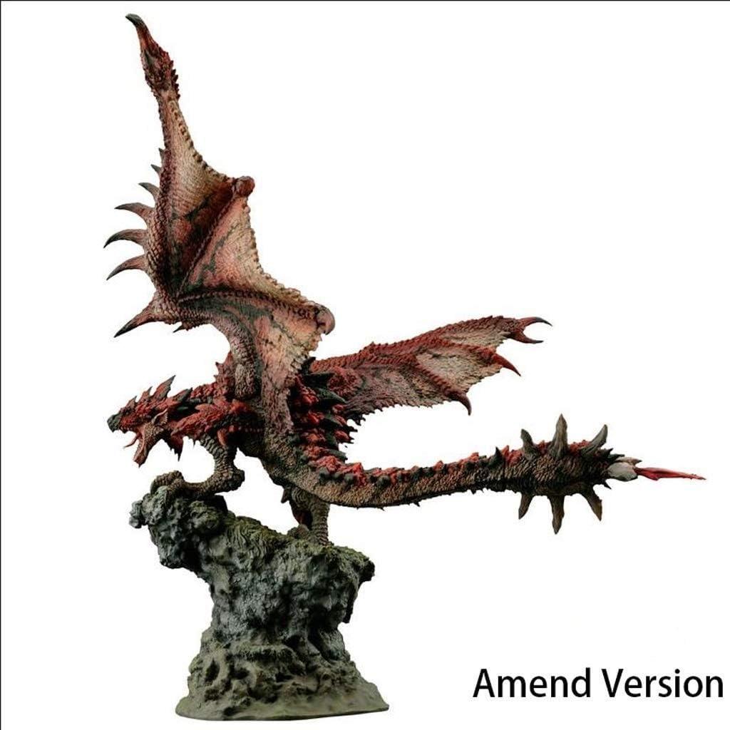 Amazon Com Llddp Anime Model Monster Hunter World Rathalos Figure