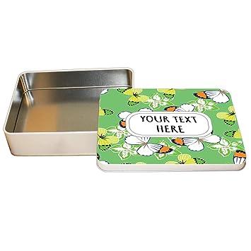 Amazon.com: Aluminum Metal Tin Custom Butterflies Seemless ...