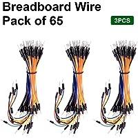 keyestudio Breadboard 65'li Jumper kablo (3'lü set)