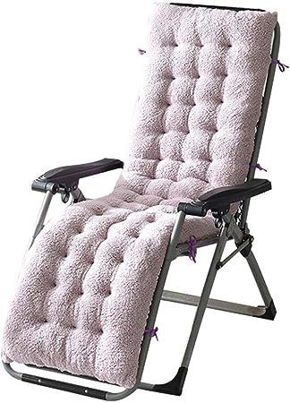 Hangarone Cojín para sillón, sillón reclinable sillón reclinable sillón reclinable Exterior sillas de jardín Patio Relajarse Patio con cojín.155x48x8cm: Amazon.es: Hogar