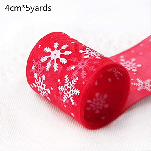 2M / 5Y Feliz Navidad Arpillera de yute natural Cinta roja Árbol ...