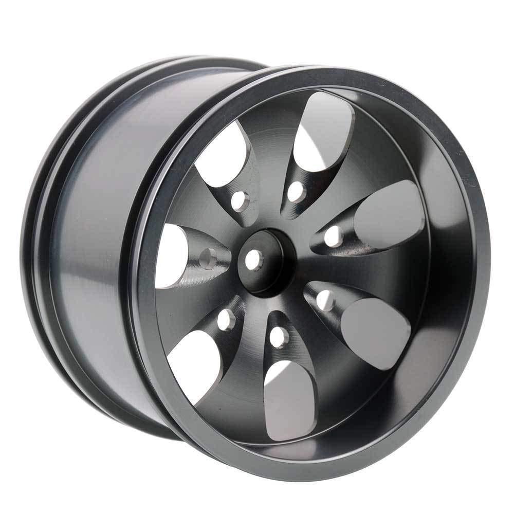 Toyoutdoorparts RC 08008N Alumiunm Gray Wheels 4pcs for RedCat 1:10 Nitro Volcano S30 Truck by Toyoutdoorparts (Image #1)