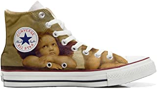 Converse All Star Chaussures Coutume Mixte Adulte (Produit Artisanal) Michelangelo