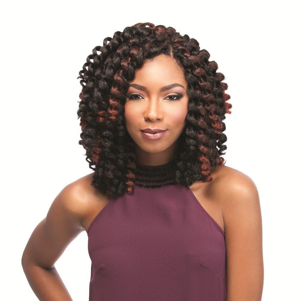 4 Packs Deal!!! JAMAICAN BOUNCE 26'' (1B Off Black) - Sensationnel African Collection Crochet Braid by Sensationnel (Image #1)