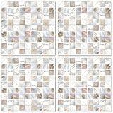 Boubouki Fliesenaufkleber / 4er Set Pearl 01
