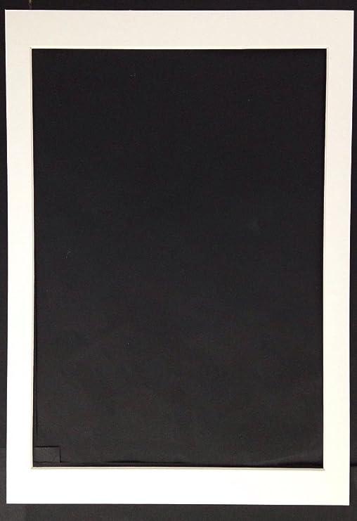 Dies ist kein Rahmen. 3 St/ück Passepartout passend f/ür 19,1/x 26,7/cm A4