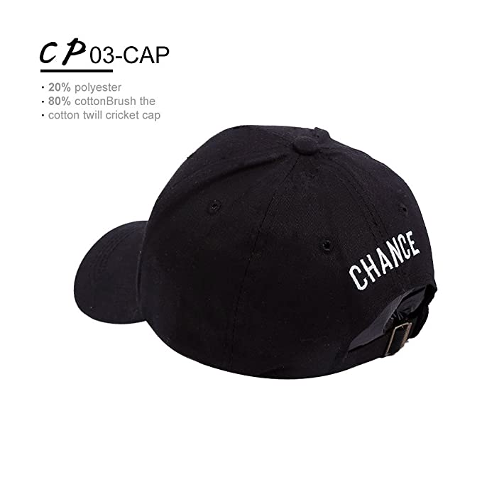 99f1be6b9a531 YaMeiDa Chance 3 The Rapper Baseball Cap Embroidered Number 3 Cool Rapper  Hat for Hip Hop