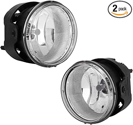 Fog Light Lamp New Front Right-and-Left for Town and Country LH /& RH Dodge Jeep