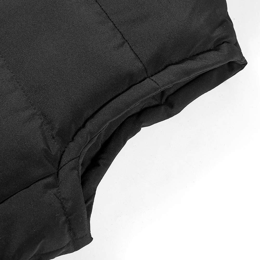 Fxbar,Mens Hooded Thick Vest Jacket Top Casual Performance Cardigan Tops Sweatshirt Jacket