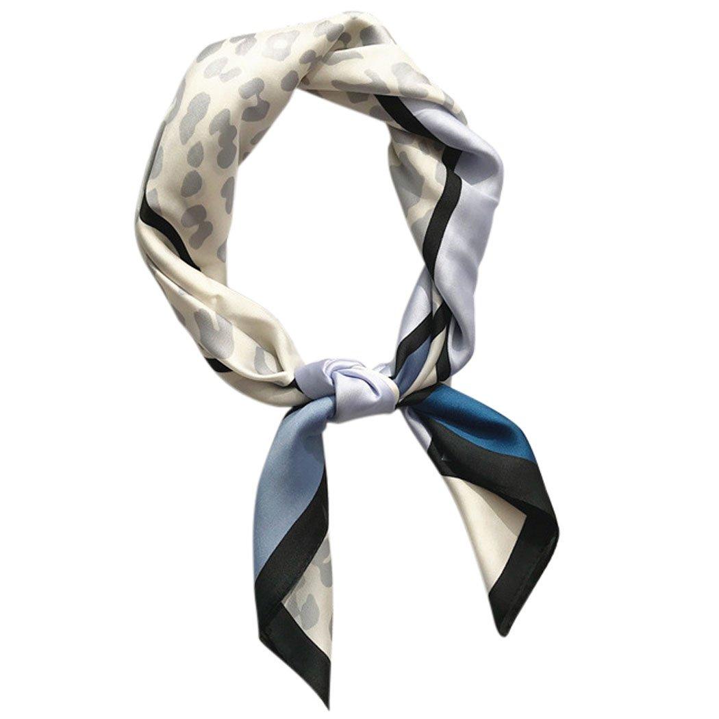 Fascigirl Pañ Uelo Cuadrado, Bufanda de Cuello para Mujer Abrigo Casual de La Bufanda Cuadrada de La Moda