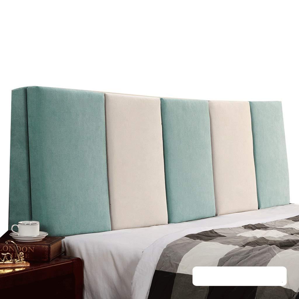 【送料無料/新品】 ベッドサイド ダブルベッド背もたれクッションヘッドボードソファ張りの柔らかい枕腰椎パッド取り外し可能、7色、6サイズ (色 : : 160cm) Gray+Beige, サイズ さいず Blue+Beige : 160cm) B07RBSZ447 120cm|Blue+Beige Blue+Beige 120cm, QTfanfan:3f81135b --- aemmontagens.com.br