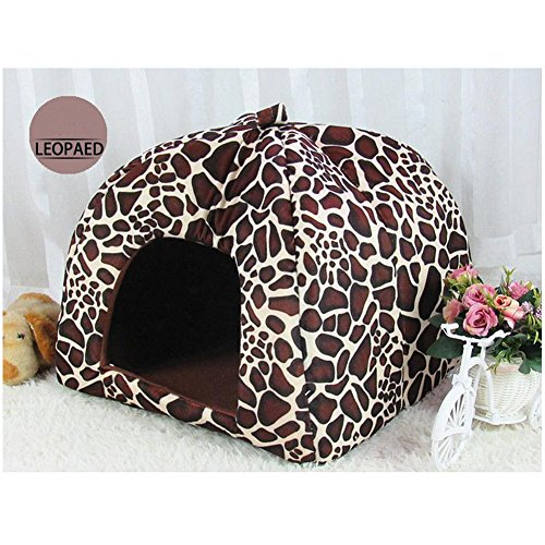 ufine-lovely-strawberry-pet-house-foldable-soft-cashmere-warm-pet-nest-dog-cat-bed-large36-36-38cm-l