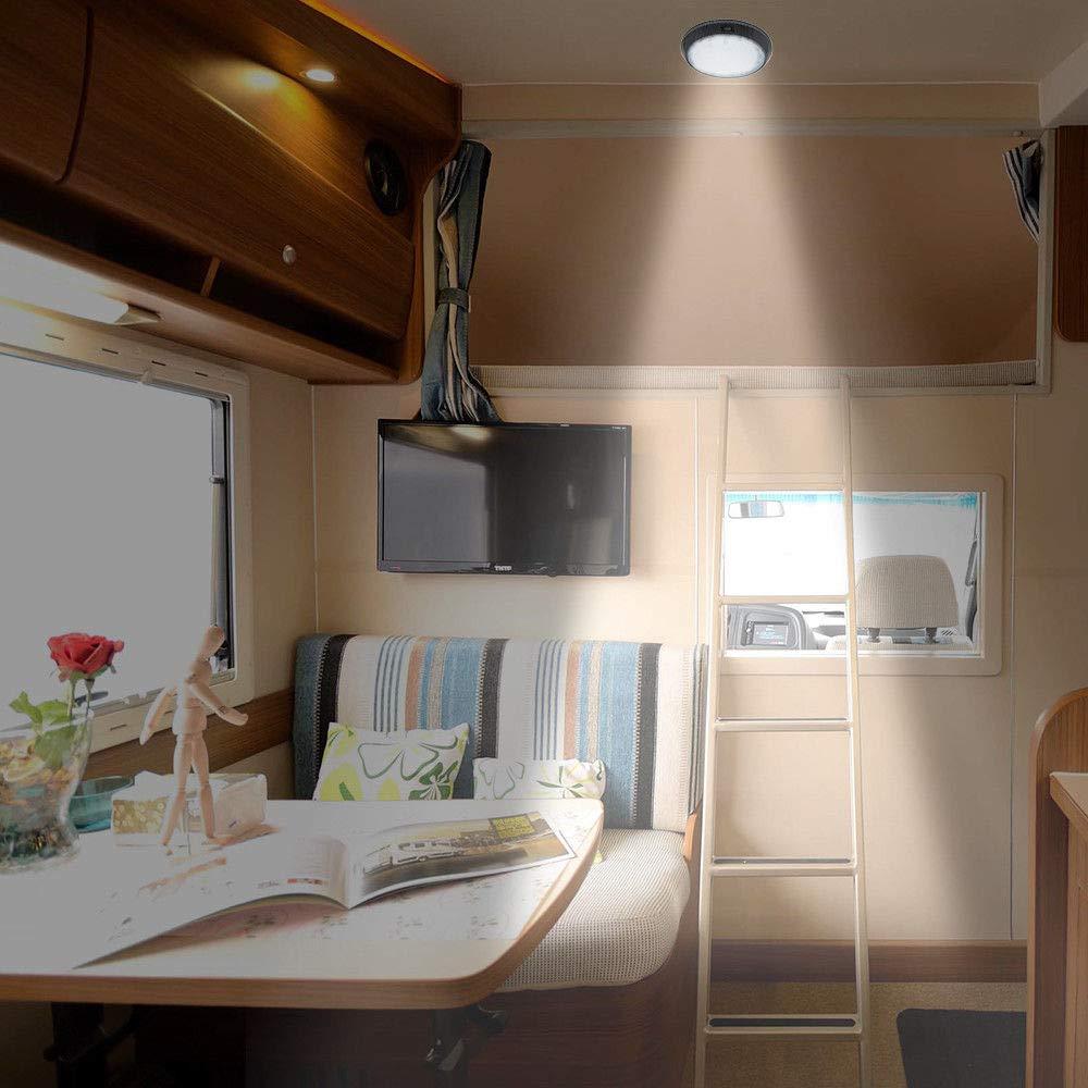 Camper Light MASO 12V LED Interior Ceiling Cabin Spot Light For Caravan Camper Motorhome White/&Red