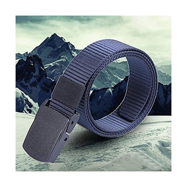 Firally Cintura in Pelle da Uomo Nuove Nero Cinture Casual Vintage Classiche con Fibbia Automatica 2 spesavip