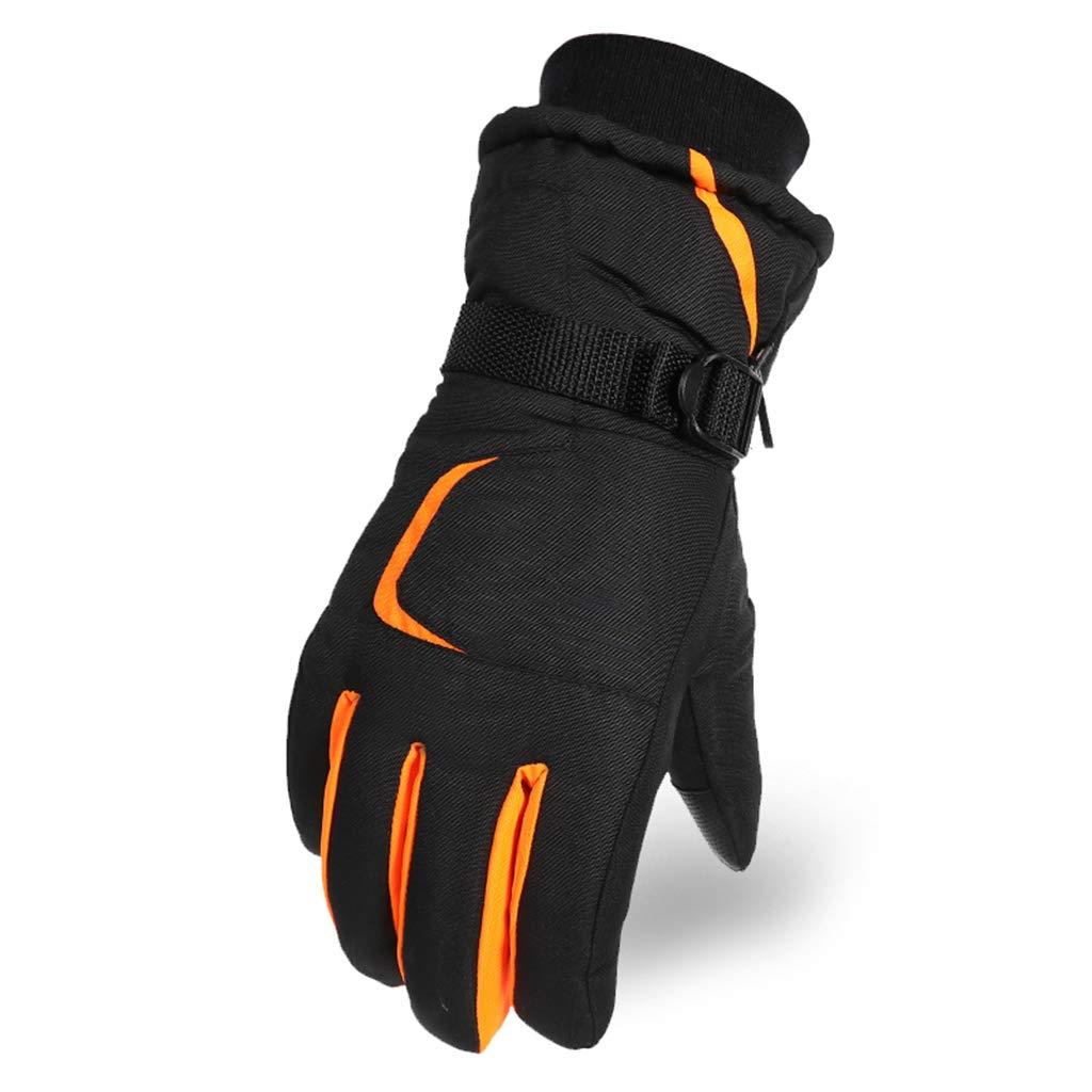 DSADDSD Herren Outdoor Warme Handschuhe, Winter Touchscreen Reiten Baumwolle Handschuhe, Ski Vollhand Handschuhe