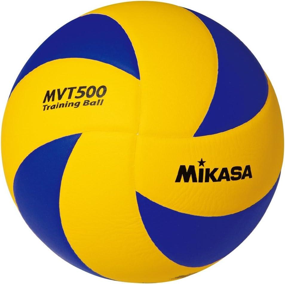 MIKASA MVT 500 - Balón de Voleibol (65-67 cm, Talla 5): Amazon.es ...
