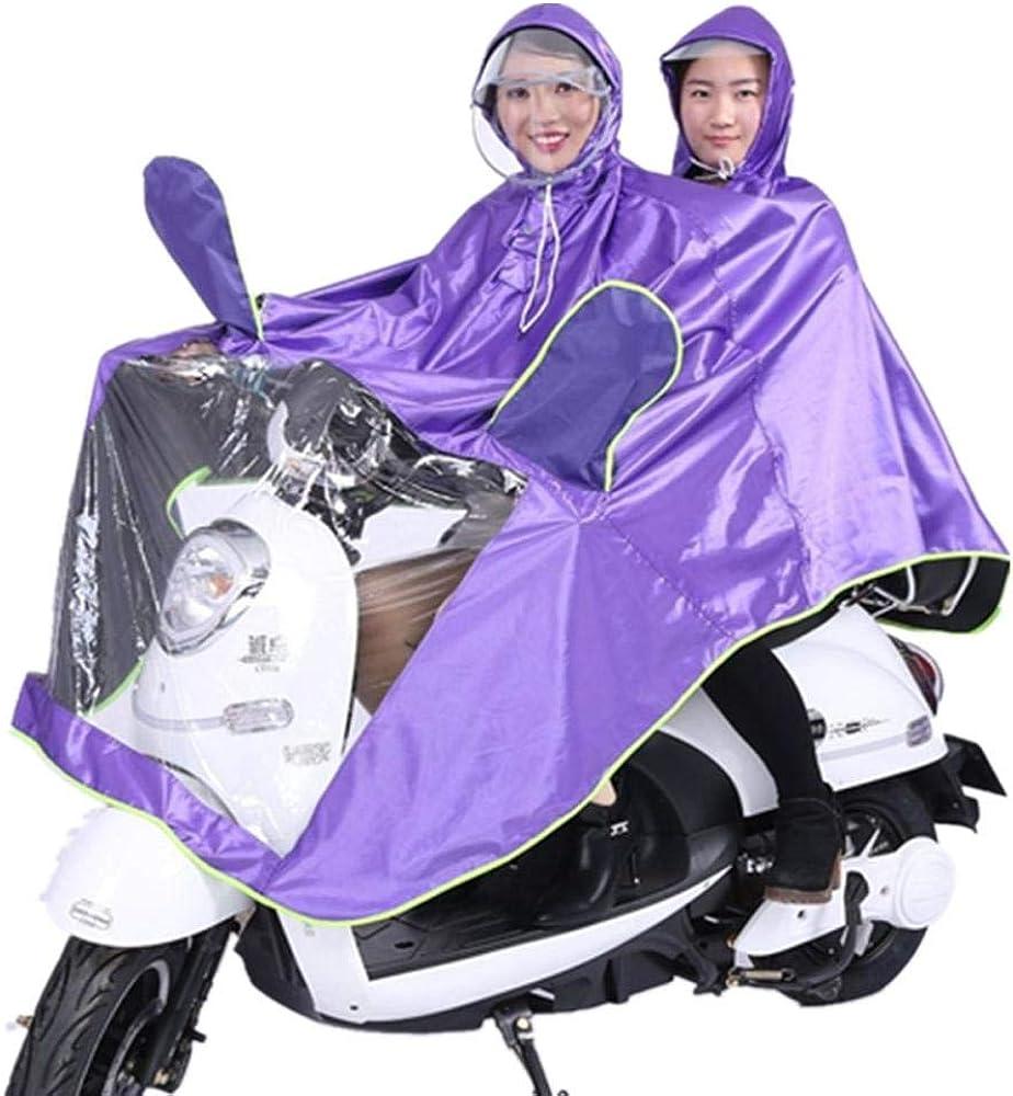 poncho impermeable Tela Oxford 2 personas Rain Gear Impermeable ...
