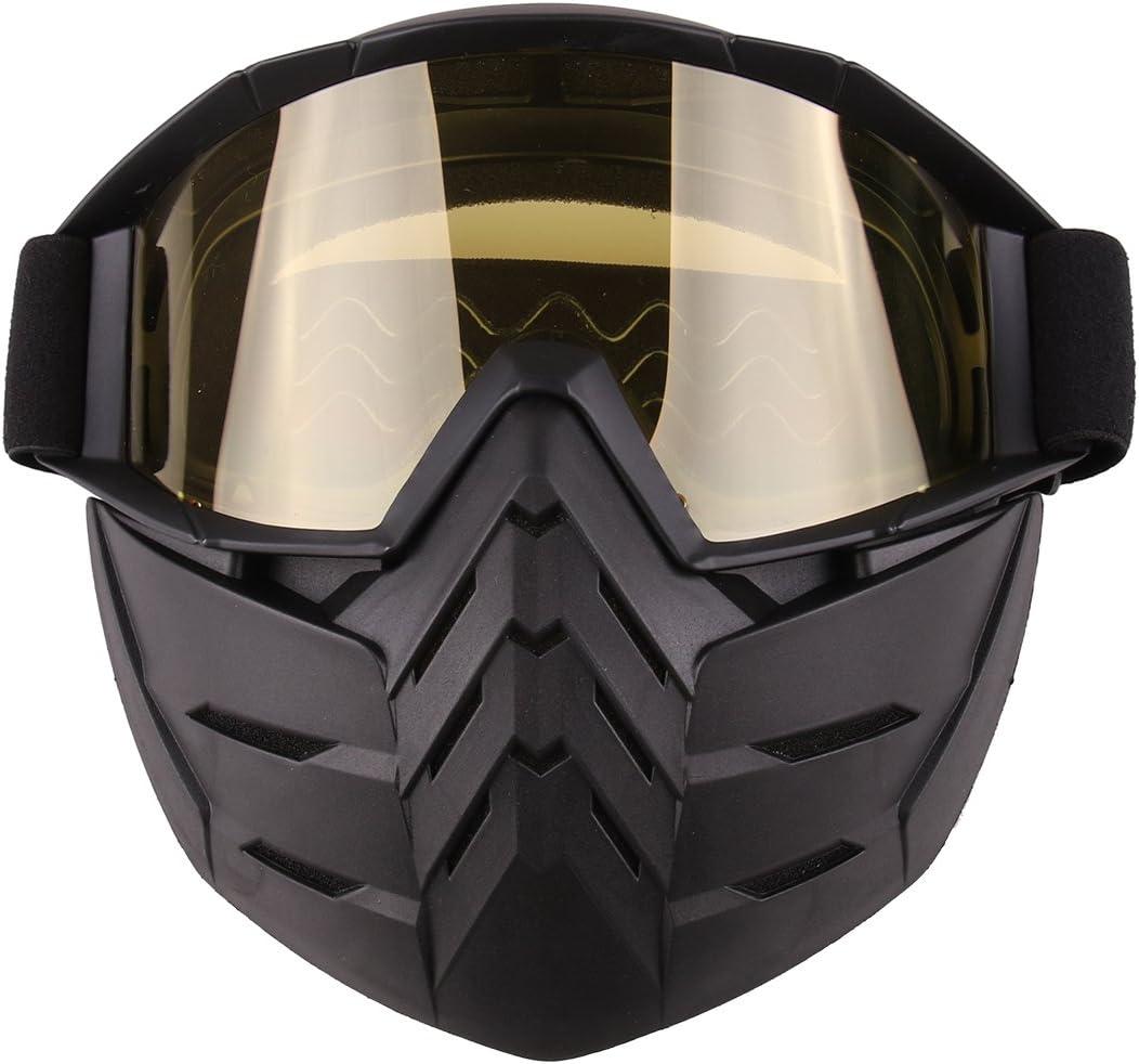 Máscara Airsoft, Foxom Máscara Airsoft Paintball Máscara de protección Máscara para Nerf Rival