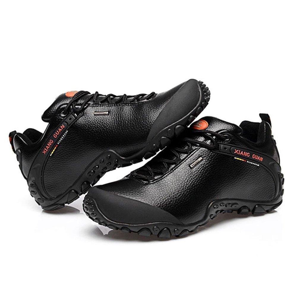 XIANG GUAN Herren Walking Niedrig-top Leder Wasserdicht Outdoorschuhe Sport Camping Wandern Walking Herren Trekking Schuhe Sneaker d466c3