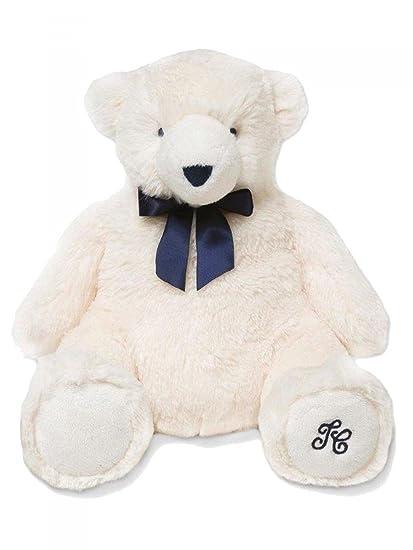 TARTINE ET CHOCOLAT - Peluche ours blanc 30 cm bébé garçon ...