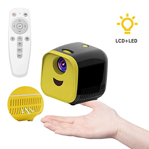 Handy Beamer Mini Projector, LED Proyector Compacto Full HD ...