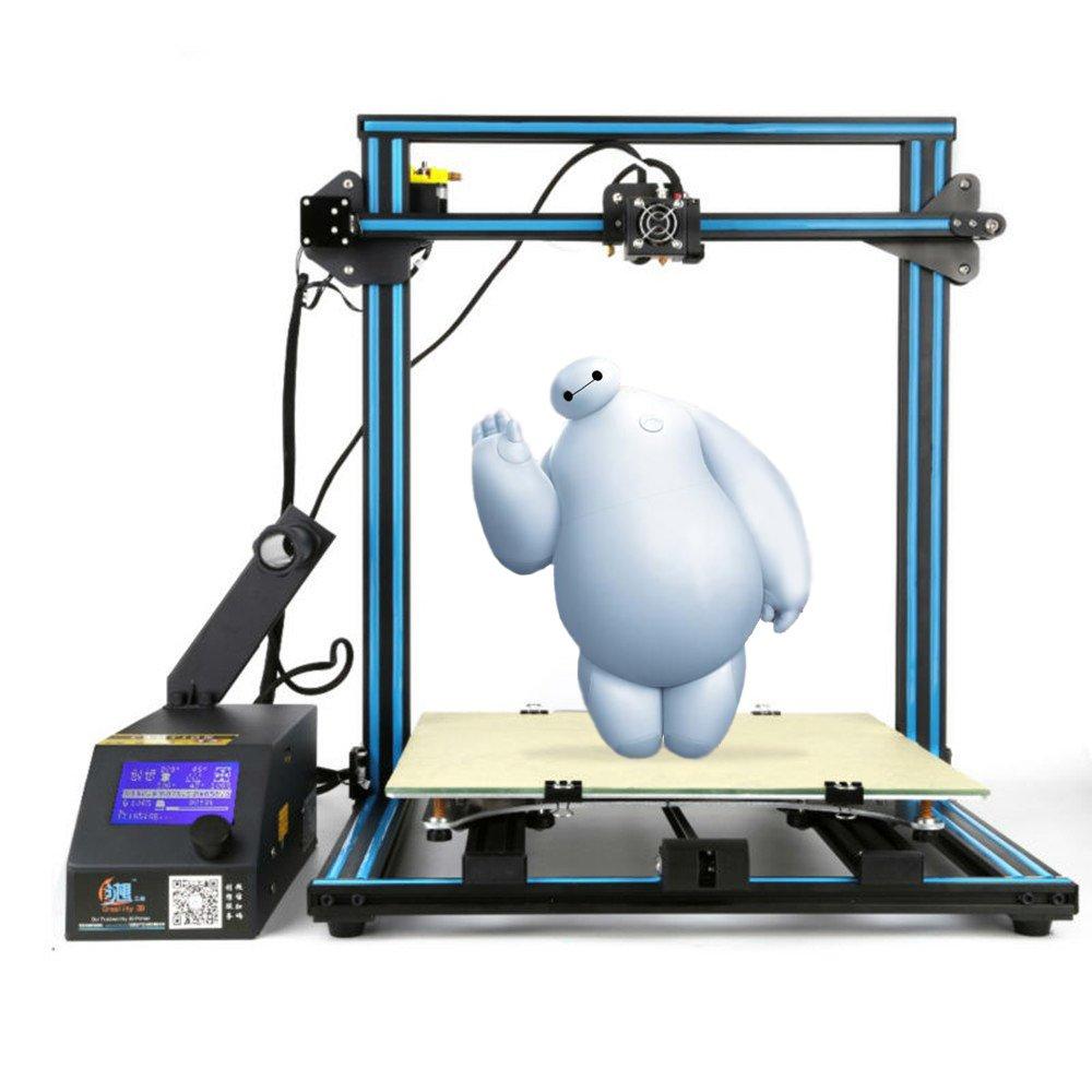 Creality Kit de bricolaje CR-10 Desktop 3D Drucker (400x400x400mm ...