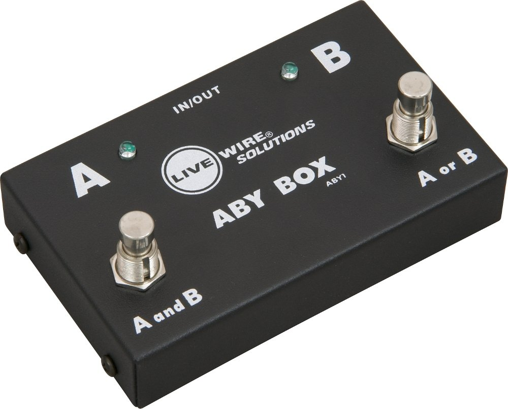 Live Wire Aby1 Guitar Footswitch Musical Instruments Wiring Diagram Besides A B Switch On