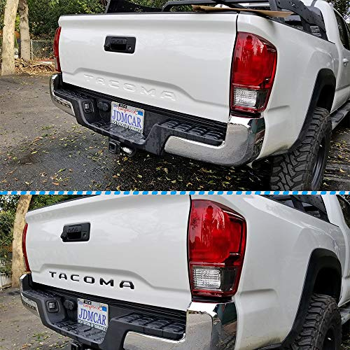 Matte black JDMCAR for Toyota Tacoma 2016 2017 2018 2019 Special 3D Zinc alloy Tailgate Insert Letters