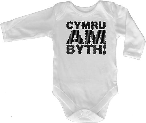 Cymru Am Byth Welsh Wales Jumpsuit Romper Pajamas babygrows 123t Funny Babygrow
