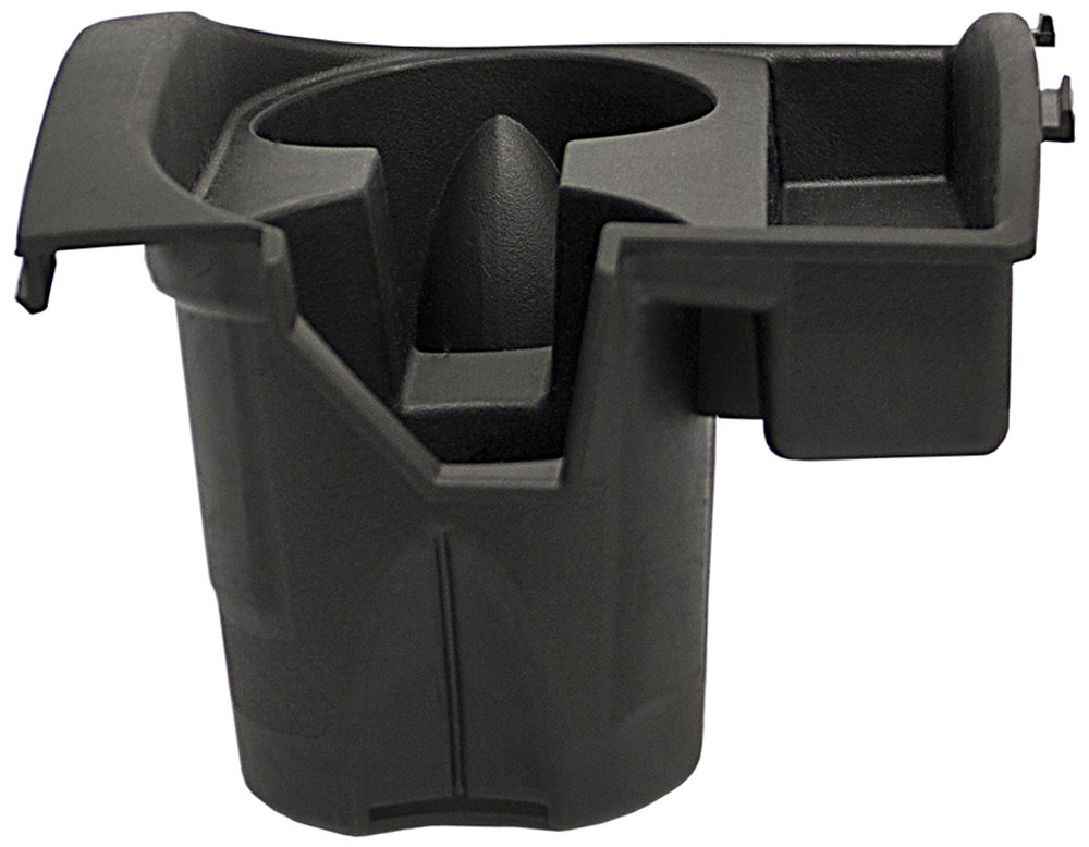 IPCW CH-JP01 Black Center Console Cupholder 2008-2010 Grand Cherokee, 2006-2007 Jeep Comanche Replacement Insert