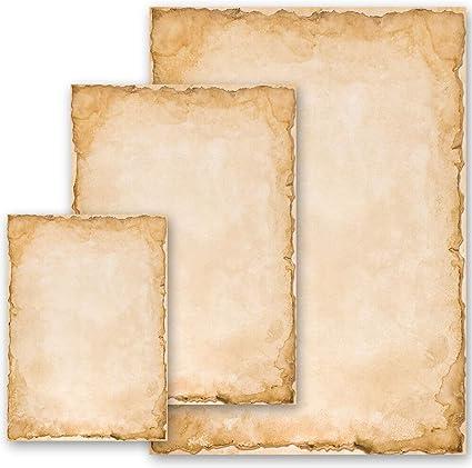 Briefpapier FROHE OSTERN 50 Blatt Osterpapier Motiv