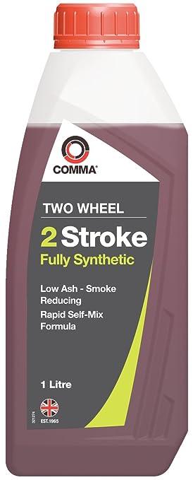 Comma TSTFS1L 2 Stroke - Aceite sintético de motores de vehículos de 2 ruedas: Amazon.es: Coche y moto