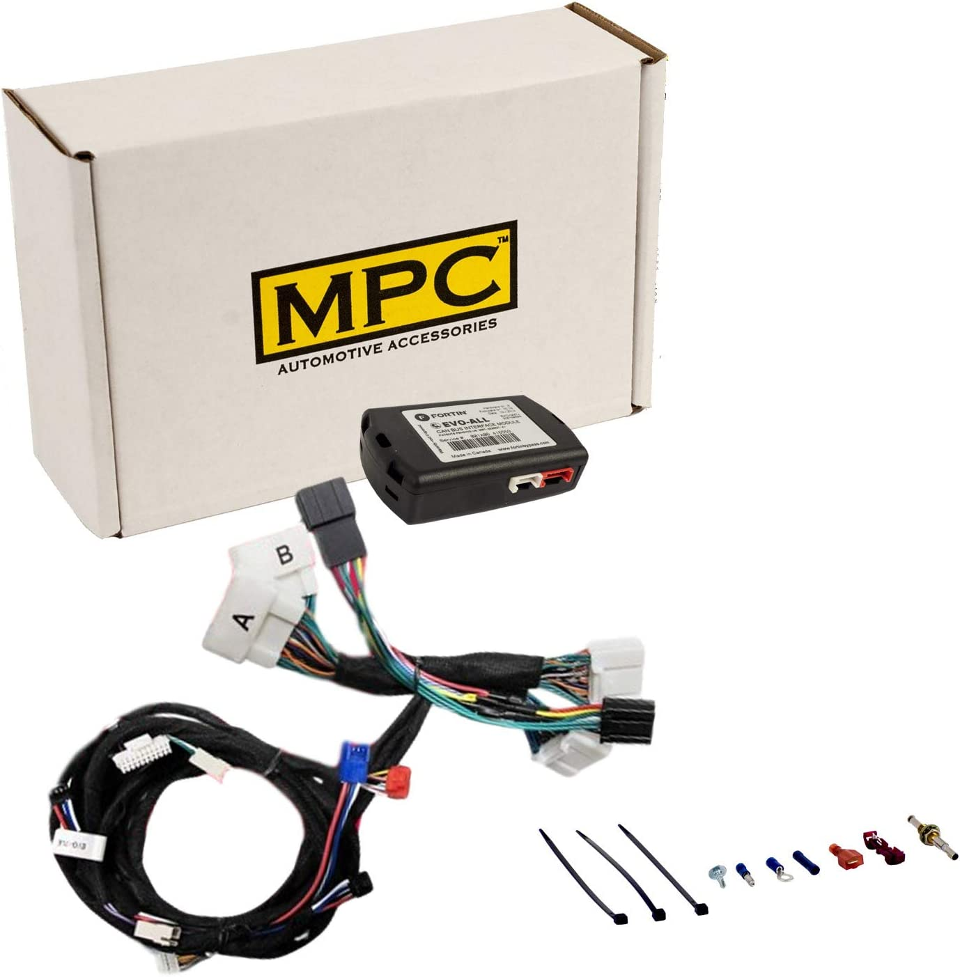 w//T-Harness MPC Complete Plug-n-Play Factory Remote Activated Remote Start Kit for 2016-2020 Lexus IS300