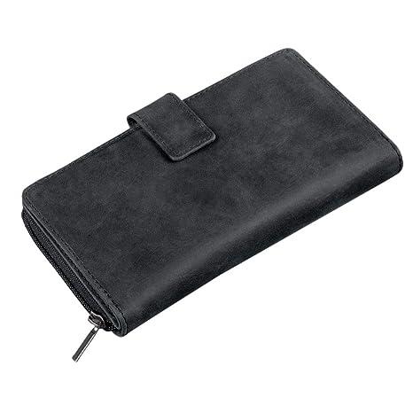 e6b32995d8dccd STILORD 'Greta' Portafoglio donna in pelle con portamonete e scomparto  porta carte Portafogli grande