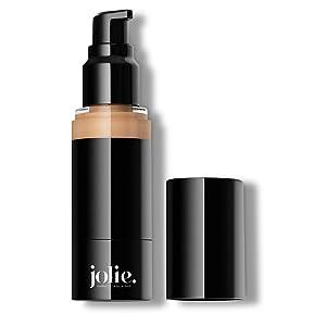 Jolie Luminous Foundation SPF 15 - Silky Hydrating Liquid Makeup (Porcelain)