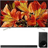 """Sony Bravia XBR85X850F 85"""" 4K HDR10 HLG Triluminos Android LCD TV with Google Assistant 3840x2160 + Sony HTX9000F 2.1Ch 4K HDR Compatible Dolby Atmos Soundbar with Bluetooth"""