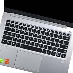 "Keyboard Cover for Lenovo Flex 14 14"", Lenovo Yoga C940 C930 930 920 13.9"" Keyboard Skin, Yoga C940 740 14 Keyboard Cover, Yoga 730 720 720S 13.3""/Yoga 730 15.6""/Yoga 720 12.5 Keyboard Cover, Black"