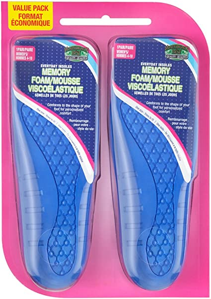 Moneysworth and Best Odour Away Insole One Size Fits All in Men/'s and Women/'s