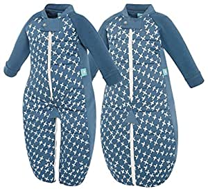 ergopouch 3.5 Tog Sleep Suit Bag, Navy Cross, 12-36 months