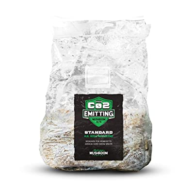 CO2 Emitting Mushroom Kits - Carbon Dioxide Booster : Garden & Outdoor