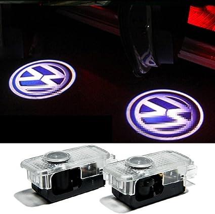 2 pcs coche de proyección LED proyector puerta sombra luz ...