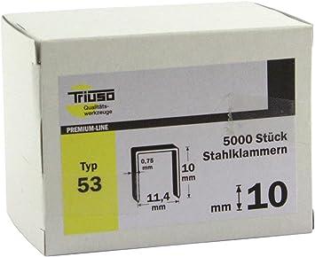 10 00 Stck 8 mm TRIUSO Klammern G-Typ 11