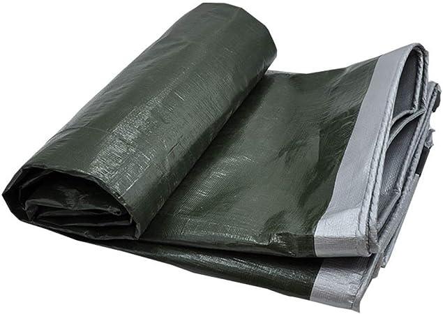 BH Lona Impermeable Heavy Duty Thickening PE Sombra Paño Pérgola Cubierta del Coche Hebilla metálica Polietileno, 18 Tamaños, Personalizable (Color: Verde, Tamaño: 6X10m): Amazon.es: Hogar
