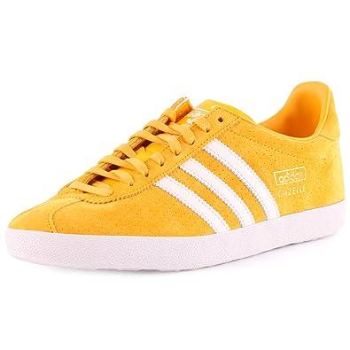 adidas Gazelle OG, Sneakers Basses Homme - Jaune - Jaune, 39-1/