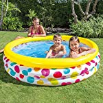 Intex Sunset Glow Baby Pool, Multi Color