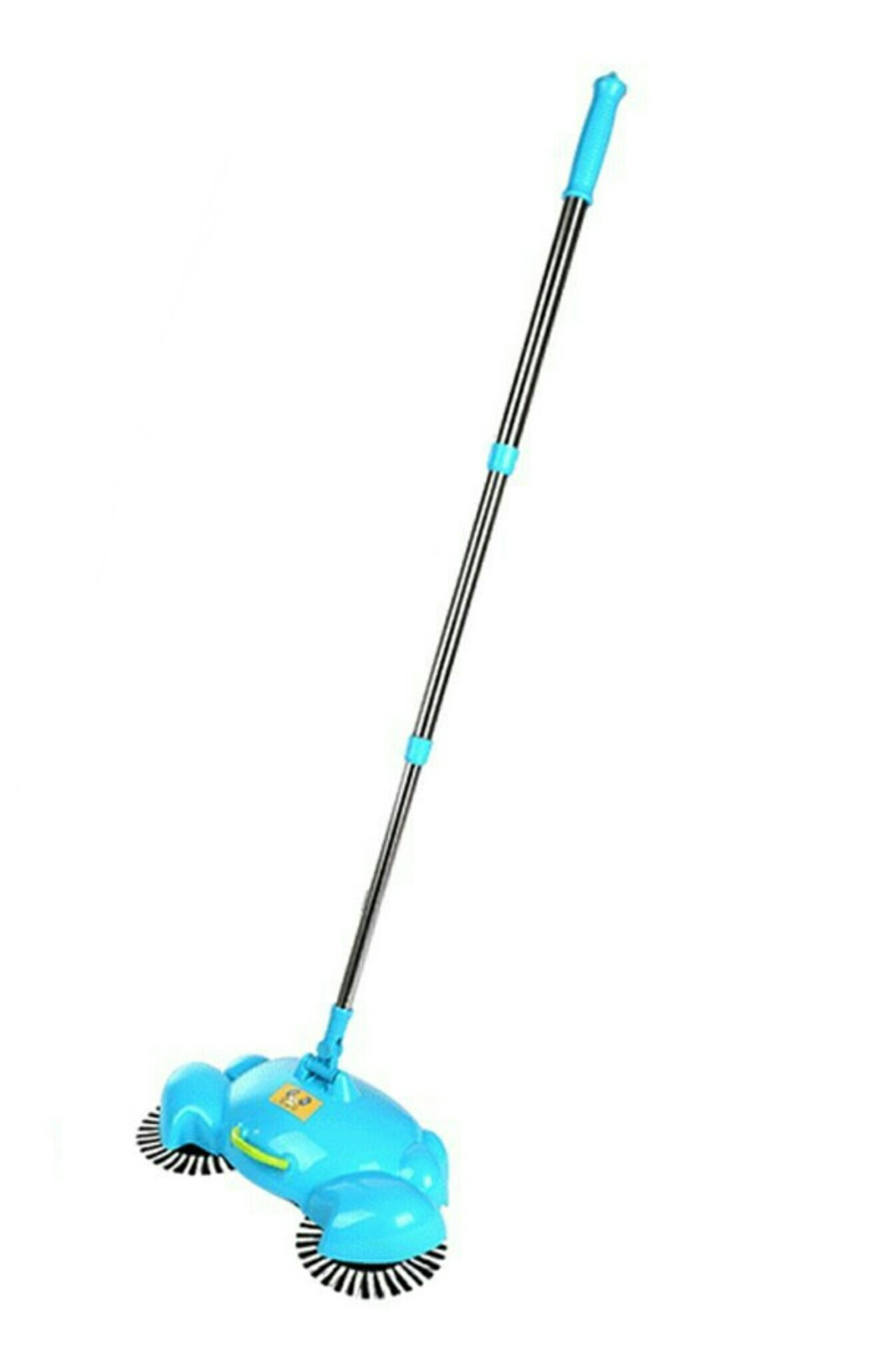 De.De. Household Hand Push Automatic Sweeping Machine House Cleaner without Electricity Broom Blue