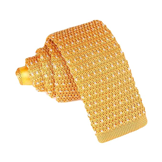 JUNGEN Corbata de Punto para Hombres Mujer Corbata Estampada con ...