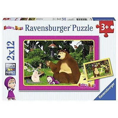 Puzzle cartoni animati amati dai bambini: cars masha e orso topolino