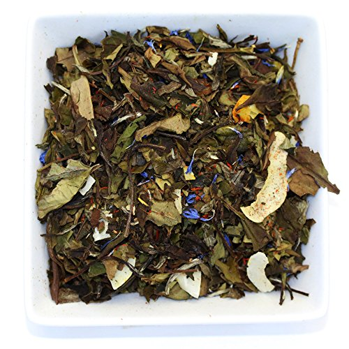 White Coconut Cream White Loose Leaf Tea - Low Caffeine - Organic (3.5oz / 100g)